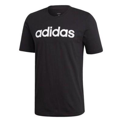 アディダス Tシャツ メンズ トップス Essentials Linear Logo T-Shirt male
