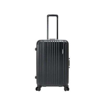 (BERMAS/バーマス)バーマス スーツケース ヘリテージ Mサイズ/64L フレームタイプ ストッパー機能 SUBポート BERMAS 60493/ユニセックス ブラック