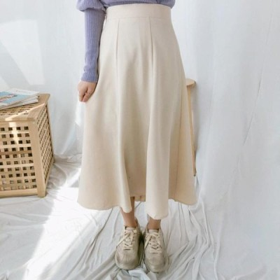 GIRLS RULE レディース スカート Pasta Flare Long Skirt