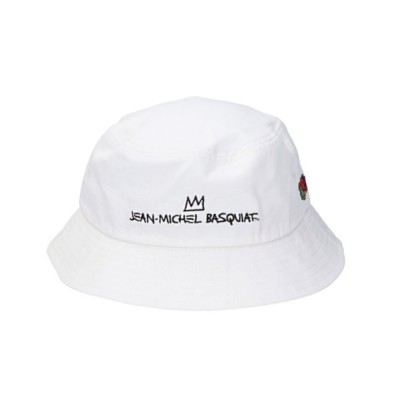 HIKA / FRUIT OF THE LOOM / BASQUIAT EMB BUCKET HAT WOMEN 帽子 > ハット