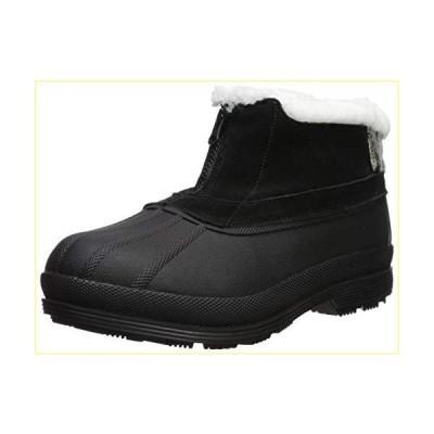 【並行輸入品】Propet Women's Lumi Ankle Zip Snow Boot, Black/White, 8H Medium US