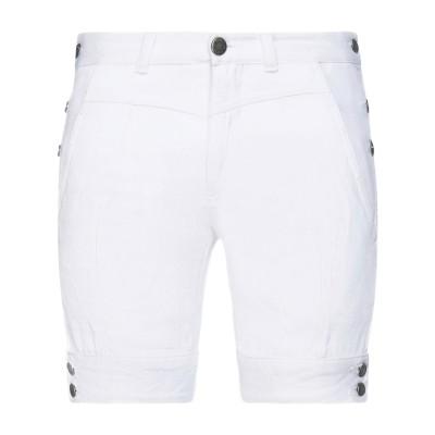 ニール・バレット NEIL BARRETT ショートパンツ&バミューダ ホワイト 29 コットン 100% ショートパンツ&バミューダ