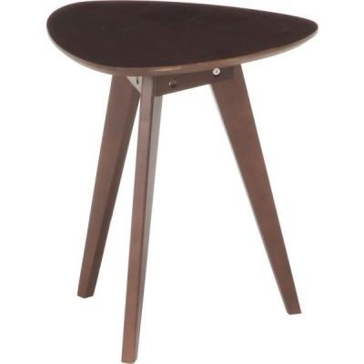 アンティーク調 コーヒーテーブル/ローテーブル 〔小 ブラウン〕 幅39.5cm 木製 〔リビング ダイニング 寝室〕〔代引不可〕