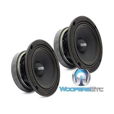 Sundown Audio SXMP-6.5 4-OHM 200W RMS 6.5インチ 4 Ohm Midrange スピーカー (ペア)