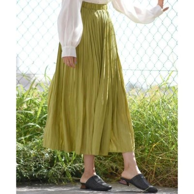 LIPSTAR / リップスター 【2020SS新作カラー】シャイニープリーツスカート