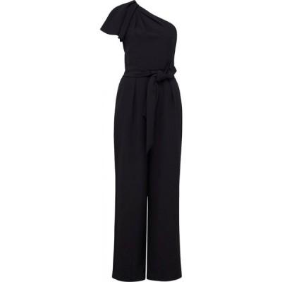 フォーエバーニュー Forever New レディース オールインワン ジャンプスーツ ワンピース・ドレス Cassandra One Shoulder Jumpsuit Black