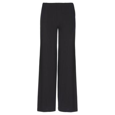 FABRIZIO LENZI パンツ ブラック 42 アセテート 92% / ポリウレタン 8% パンツ
