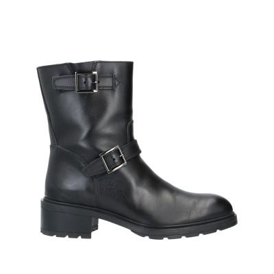 ホーガン HOGAN ショートブーツ ブラック 36.5 革 ショートブーツ