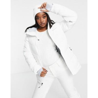 コロンビア Columbia レディース ジャケット アウター Abbott Peak insulated jacket in white ホワイト