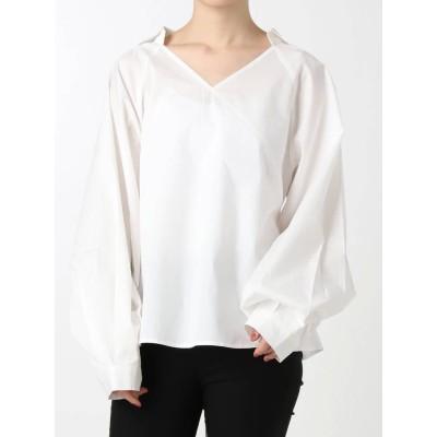 【公式】EMODA(エモダ)ワイドマークシャツトップ
