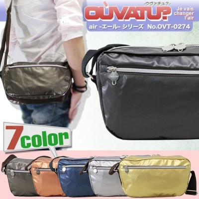 ショルダーバッグ メンズ 軽量 ブランド 日本製 OUVATU? ウヴァチュ? Air エール 斜めがけバッグ 撥水 メンズショルダーバッグ