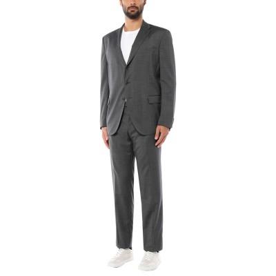 カンタレリ CANTARELLI スーツ 鉛色 58 バージンウール 100% スーツ