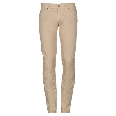 ロイ ロジャース ROŸ ROGER'S パンツ キャメル 28 コットン 96% / ポリウレタン 4% / 革 パンツ