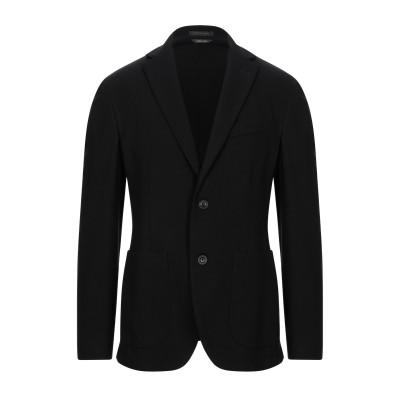 JEORDIE'S テーラードジャケット ブラック 54 レーヨン 67% / ナイロン 29% / ポリウレタン 4% テーラードジャケット
