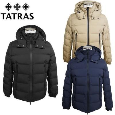 【TATRAS】タトラス BORBORE ダウンジャケット アウター メンズ ナイロン素材 スタイリッシュ 止水ジップ アクティビティ 高級感