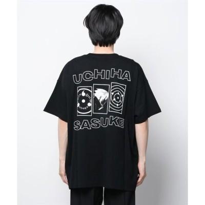 tシャツ Tシャツ 【LIBERE(リベーレ)】x【NARUTO (ナルト)】SASUKE T-SHIRTS/BLACK
