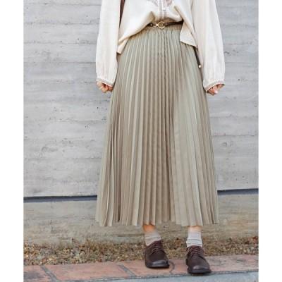 スカート プリーツギャザースカート