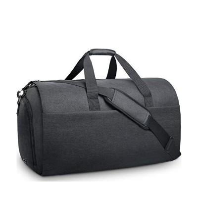 NEWHEY ガーメントバッグ メンズ ボストンバッグ ダッフルバッグ 修学 旅行 スーツバッグ 折りたたみ 大容量 靴収納 スーツ収納 出張 就活