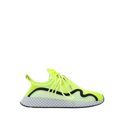 ADIDAS ORIGINALS スニーカー&テニスシューズ(ローカット) ビタミングリーン 6.5 紡績繊維 スニーカー&テニスシューズ(ローカッ