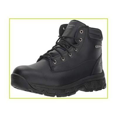 Skechers Men's Morson-SINATRO Hiking Boot, Black, 10 Medium US【並行輸入品】