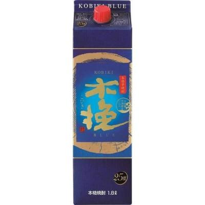 雲海酒造 木挽BLUE 25度 パック 芋焼酎 1800ml