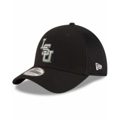 ニューエラ メンズ 帽子 アクセサリー LSU Tigers Black White Neo 39THIRTY Cap Black