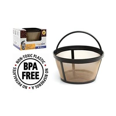 ゴールドトーンブランド再利用可能な8-12カップバスケットコーヒー 北米版 GoldTone Brand Reusable 8-12 Cup Basket Coffee Filter fits M