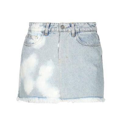 BONSAI ミニスカート ブルー 40 コットン 100% ミニスカート