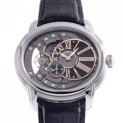 オーデマ・ピゲ AUDEMARS PIGUET ミレネリー 4101 15350ST.OO.D002CR.01 ブラック/シルバー文字盤 中古 腕時計 メンズ