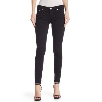トゥルーレリジョン レディース デニムパンツ ボトムス Halle Mid Rise Super Skinny Jeans 2SB BODY R