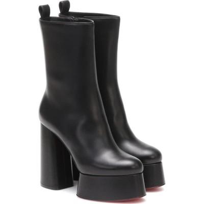 クリスチャン ルブタン Christian Louboutin レディース ブーツ シューズ・靴 izamayeah 130 platform boots Black