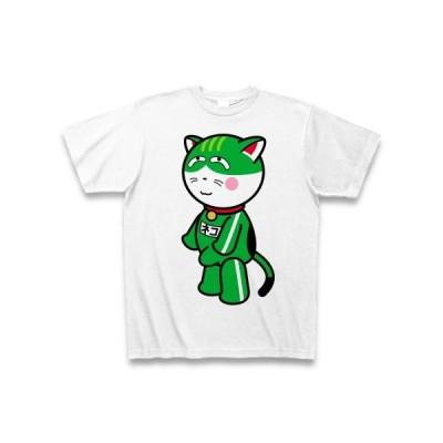 修学旅行のお土産には「ネコモッコリ」! Tシャツ(ホワイト)