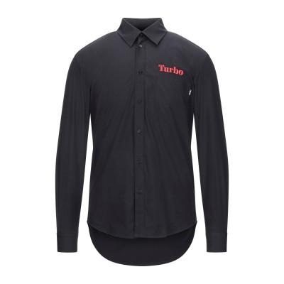 エムエスジーエム MSGM シャツ ブラック 39 コットン 100% / ポリエステル シャツ