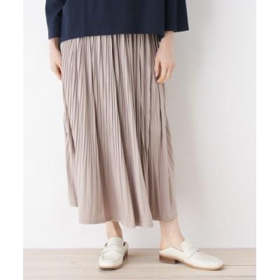 ZAMPA(ザンパ) アコーディオンプリーツマキシ丈スカート