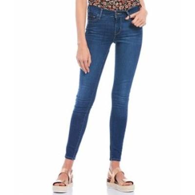 リーバイス レディース デニムパンツ ボトムス 710 Mid Rise Skinny Jeans Toronto Sights