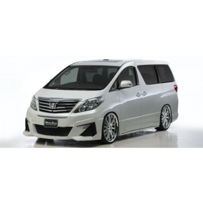 ALPHARD(ANH/GGH20/25W ATH20W) (H23.11〜  ) SPORTS LINE BLACK BISON EDITION コンビネ−ション3点キット(F,S,R)