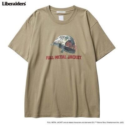 Liberaiders リベレイダース FULL METAL JACKET フルメタルジャケット トップス Tシャツ FMJ003 TEE カットソー 半袖Tシャツ