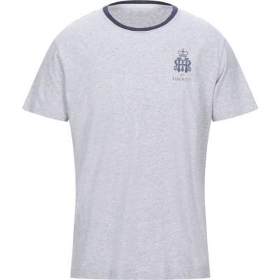 ハケット HACKETT メンズ Tシャツ トップス t-shirt Light grey