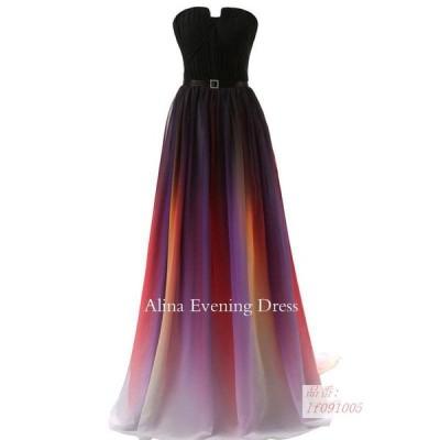 カラードレス 二次会 パーティードレス ロングドレス 花嫁 ウェディングドレス イブニングドレス 結婚式 演奏会 ドレス 大きいサイズ ウエディングドレス