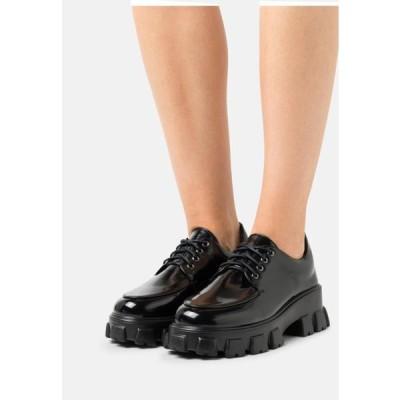 グラマラス レディース 靴 シューズ Lace-ups - black