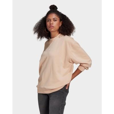 アディダス adidas Originals レディース スウェット・トレーナー トップス loungewear adicolor essentials sweatshirt