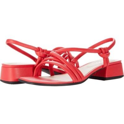 エコー ECCO レディース サンダル・ミュール シューズ・靴 Elevate Square Strap Sandal Hibiscus Cow Leather