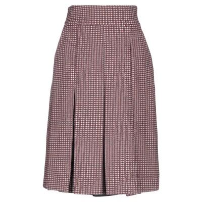 アレッサンドロデラクア ALESSANDRO DELL'ACQUA ひざ丈スカート ライトピンク 42 ウール 35% / ポリウレタン 35% /