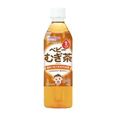 和光堂 ベビーのじかん むぎ茶 [1ヶ月頃から] 500ml24本 ベビー飲料