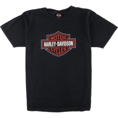 ハーレーダビッドソン バイクTシャツ USA製 メンズXL /eaa067590