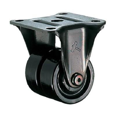 ハンマー 低床中荷重用固定式ナイロン車輪 50mm【1個】1251431-1