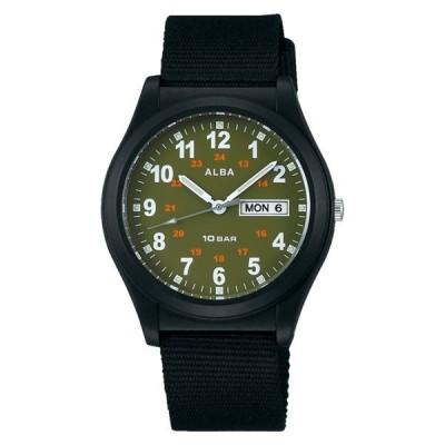(国内正規品)(セイコー) 腕時計 SEIKO AQPJ408 (アルバ)ALBA メンズ ナイロンバンド クオーツ アナログ