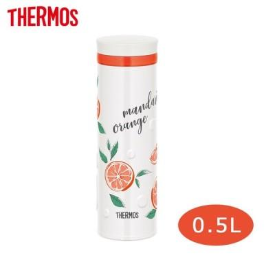 サーモス 水筒 真空断熱ケータイマグ 500ml オレンジホワイト JNO-502G ORWH