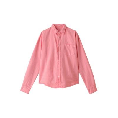 Frank&Eileen フランク&アイリーン 【MEN】LUKE ストーンウォッシュシャツ メンズ ピンク XXS