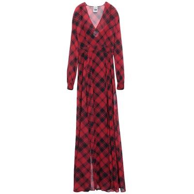 MY TWIN TWINSET ロングワンピース&ドレス レッド S ポリエステル 100% ロングワンピース&ドレス